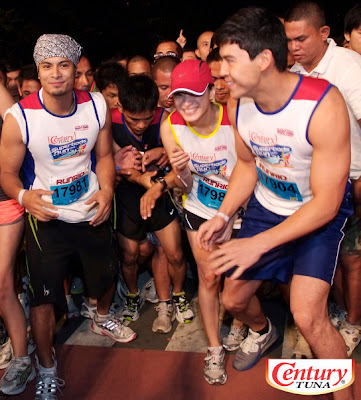 Maricar Reyes at Century Tuna Super Bods Run