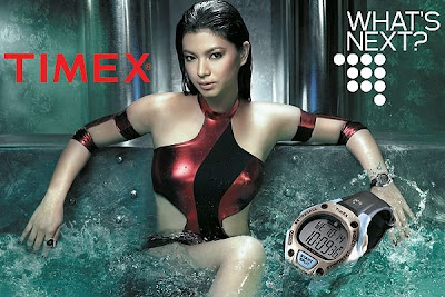 Angel Locsin's Photo Ad For TIMEX