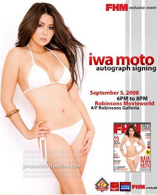 Iwa Moto Autograph Signing Photos