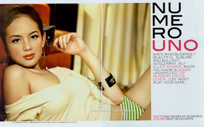 Ellen Adarna UNO Magazine October Scanned Photo