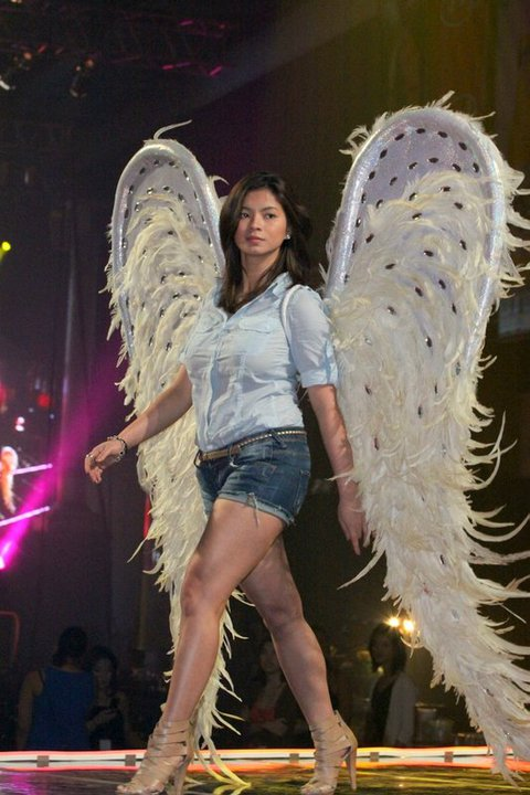 Angel Locsin during the rehearsal of FHM 100 Sexiest 2010