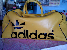 beg adidas (made in yusgolavija)