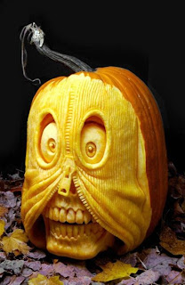 zipper jack o'lantern pumpkin