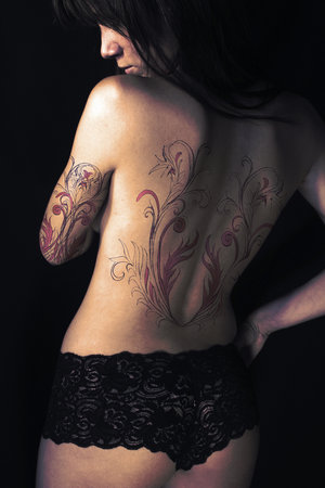 New Tattoo Placement for Women