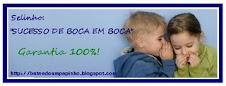 Recebi este selo lindissimo...que foi oferecido pela amiga Flor do blog: http://sitiodaflor.blogspo