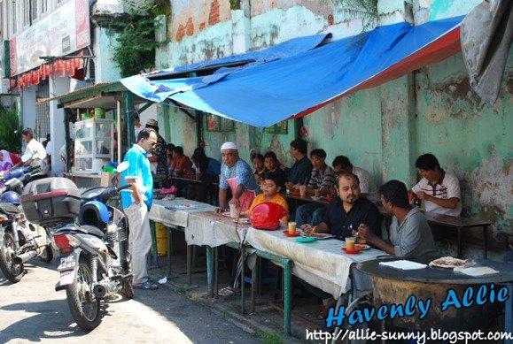 Transfer Road Roti Canai Stall 2