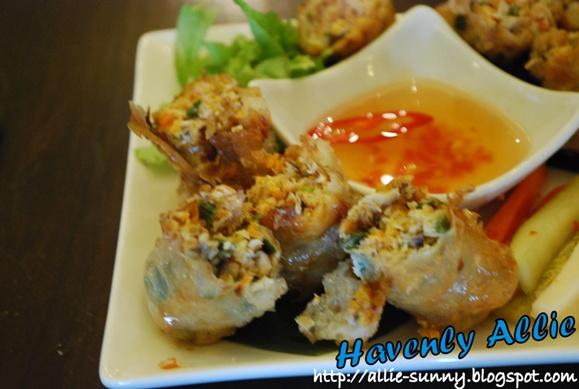 Crisp Fried Hanoi Rolls