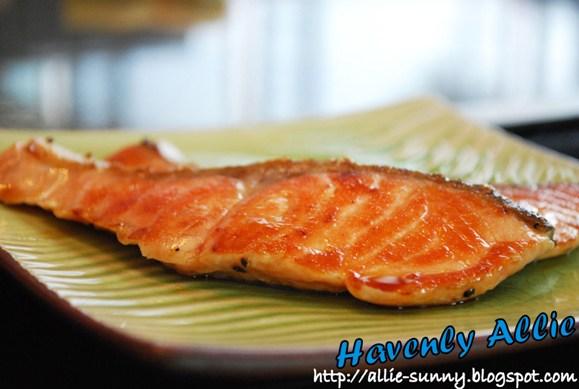 Salmon Tepanyaki 1