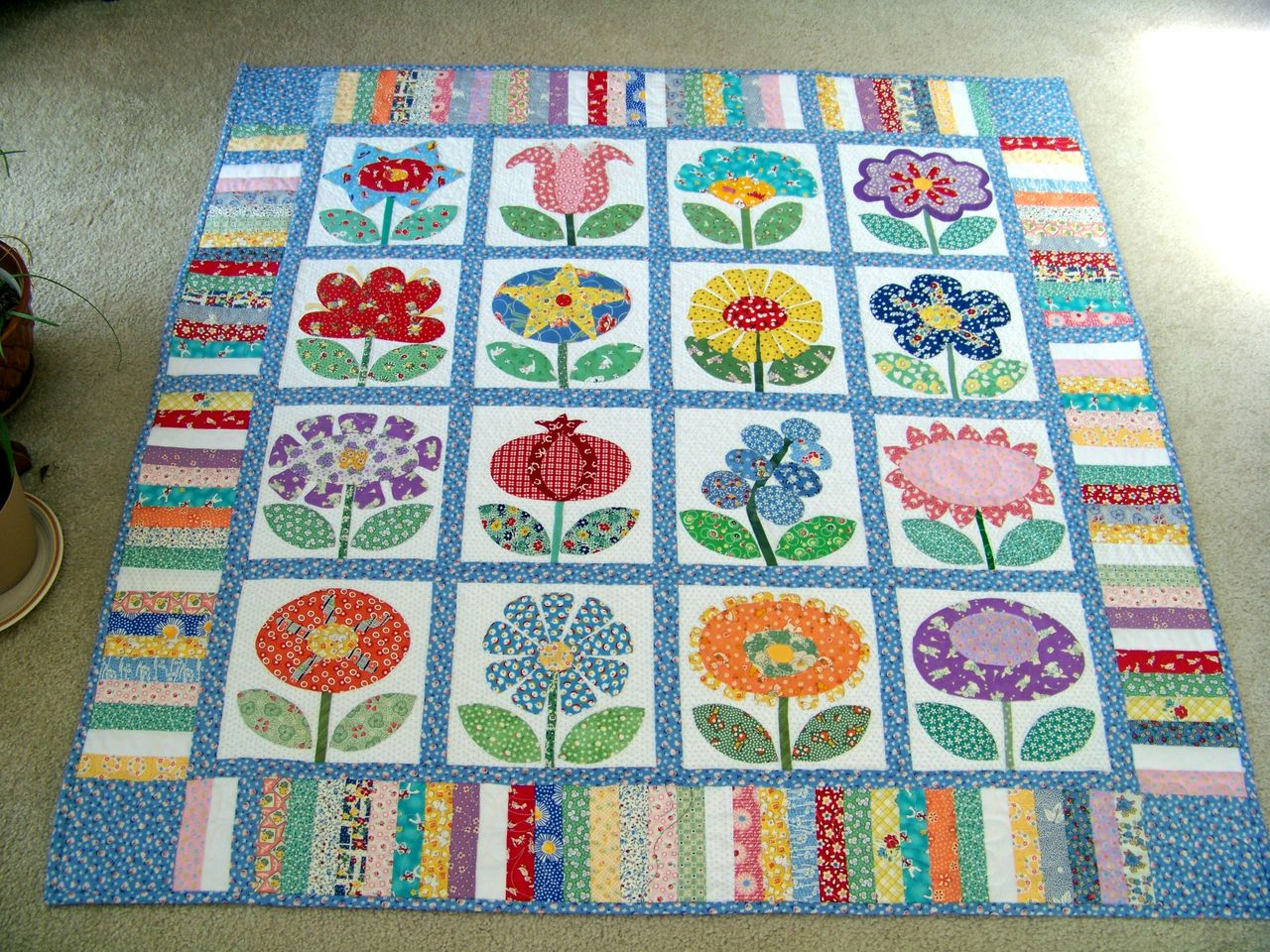 Quilt Patterns For Mother S Day : Attic Window Quilt Shop: FLOWERS FOR MOTHER S DAY