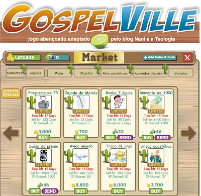 NANI E A TEOLOGIA Gospelville