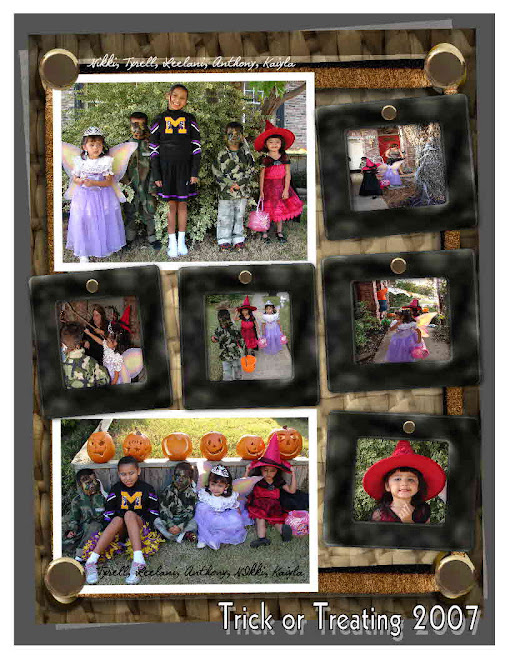 Before trick or treating!