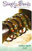 Simply Beads Indian Agate Coil kit of the month