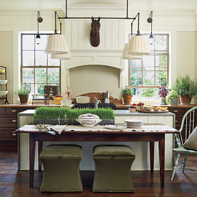 Home wall decoration kitchens southernaccents kitchens for Southern kitchen design