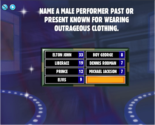 Name a celebrity famous for wearing glasses - Family Feud ...