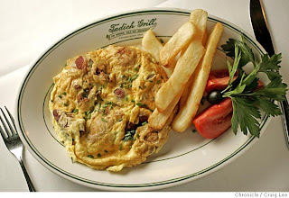... : Oyster Omelets: O-Ah-Jian Versus Hangtown Fry from Tadich Grill