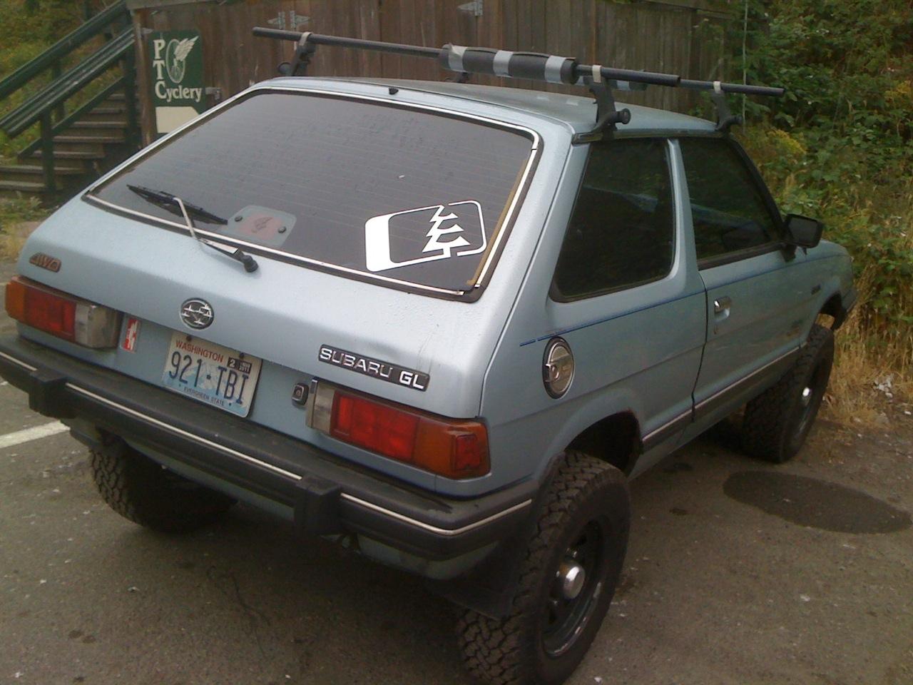 Tamerlane S Thoughts Carspotting 51 Subaru Dl