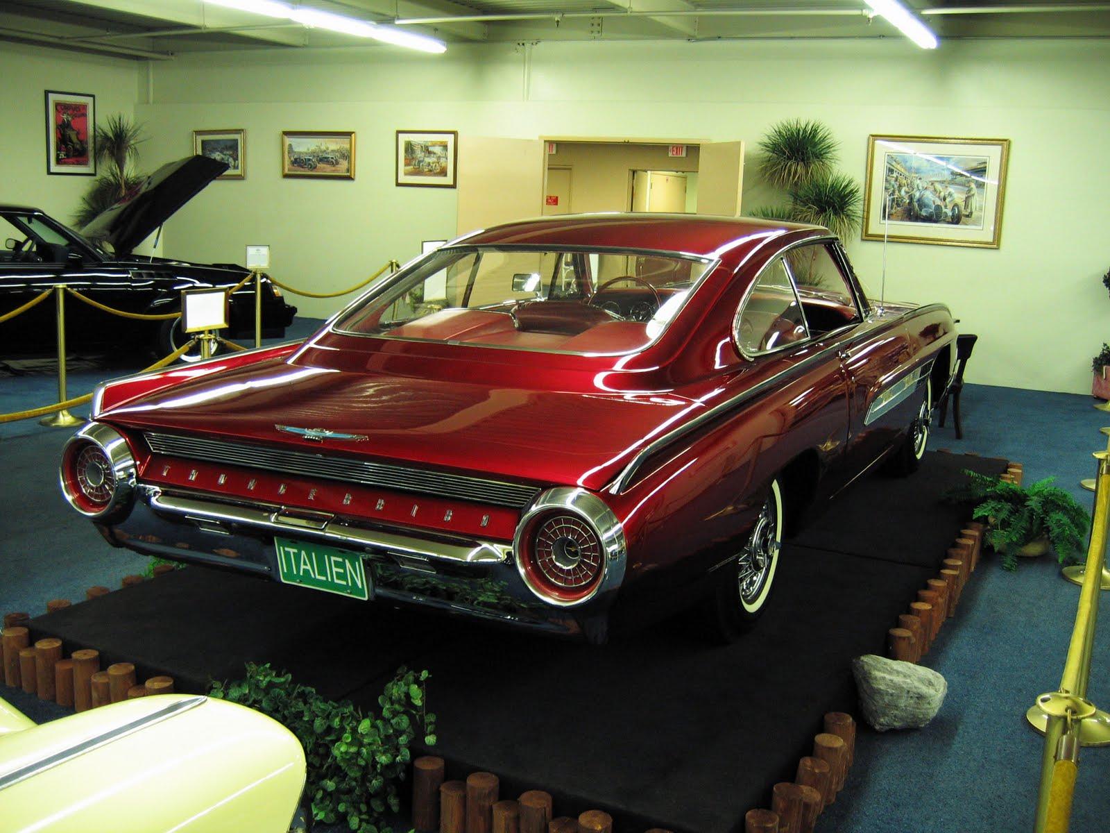 1963 Ford Thunderbird Italien Concept Car