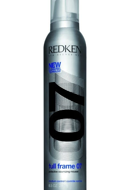 Redken Full Frame 07 Volumizing Mousse.Redken #07 Full Frame ...