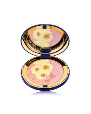 Featured in Estée Lauder's signature navy blue compact with golden cartouche