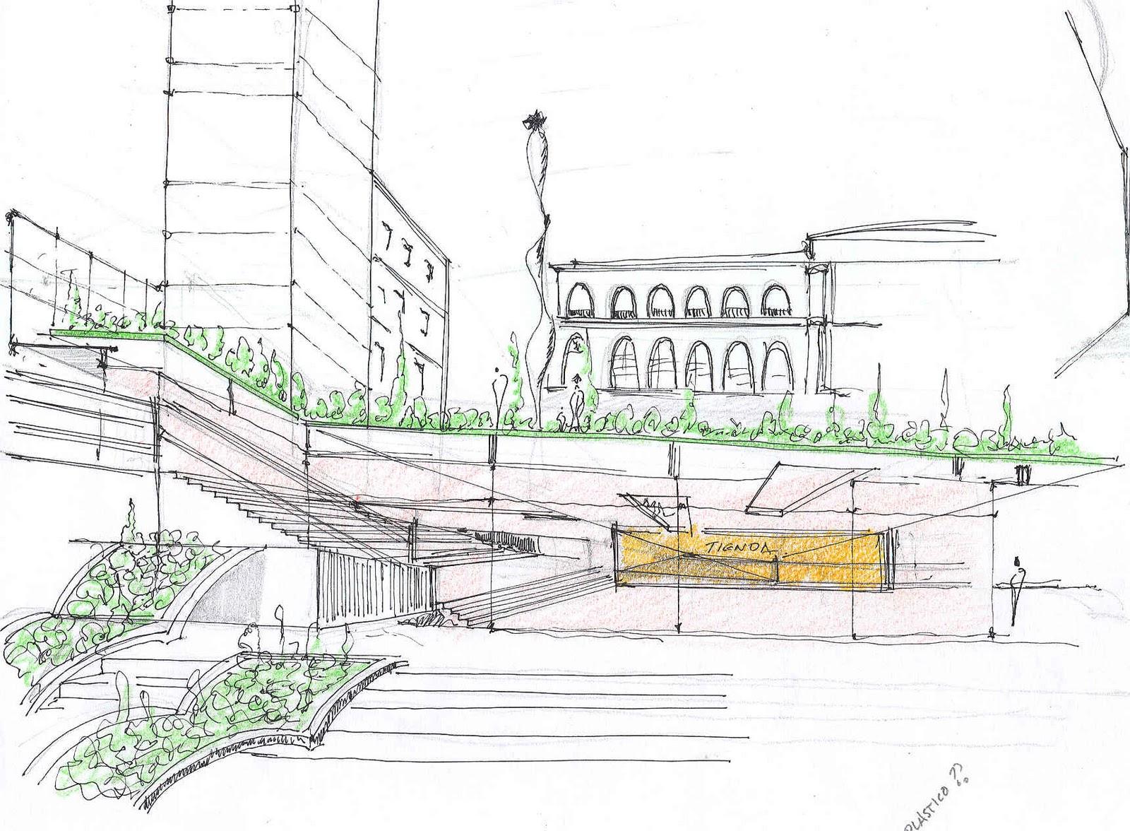 30 Arquitectura Croquis Proyectos Iv