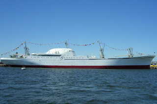 NS Savannah spruced up for 50th Anniversary