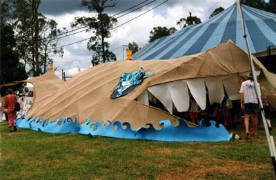 Whale tent at the Woodford Festival