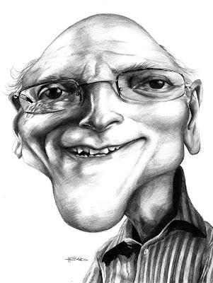 caricatura xalberto por manohead