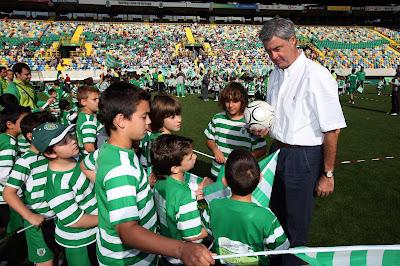 Filipe Soares Franco com EAS em Alvalade IV