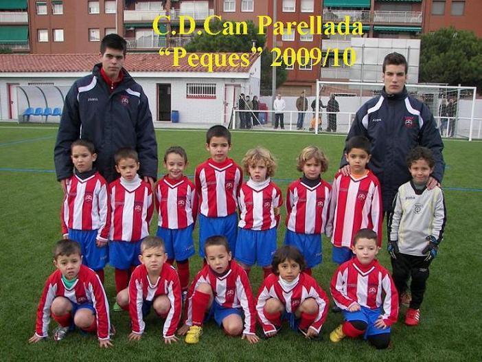 C.D.Can Parellada-PEQUES B-Temporada 2009-10