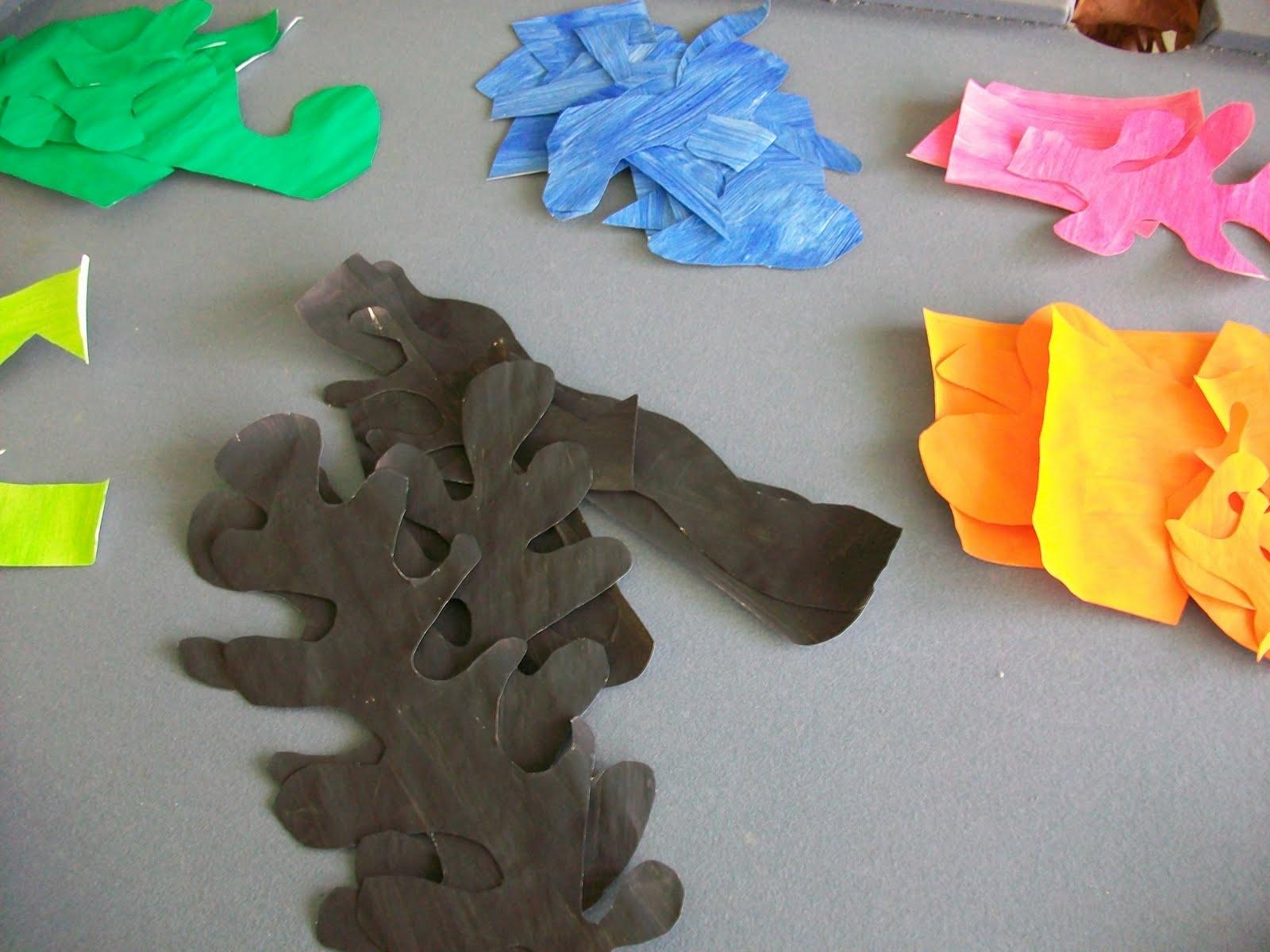 henri matisse painting with scissors modern art 4 kids