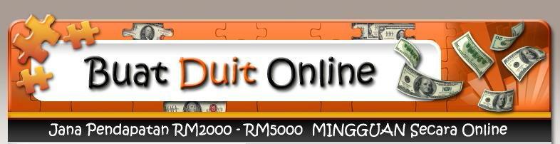 Buat Duit Secara Online