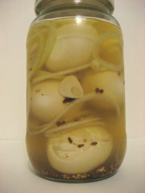 Pickled Eggs Recipe — Dishmaps