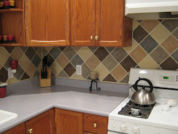 Backsplash on a Budget
