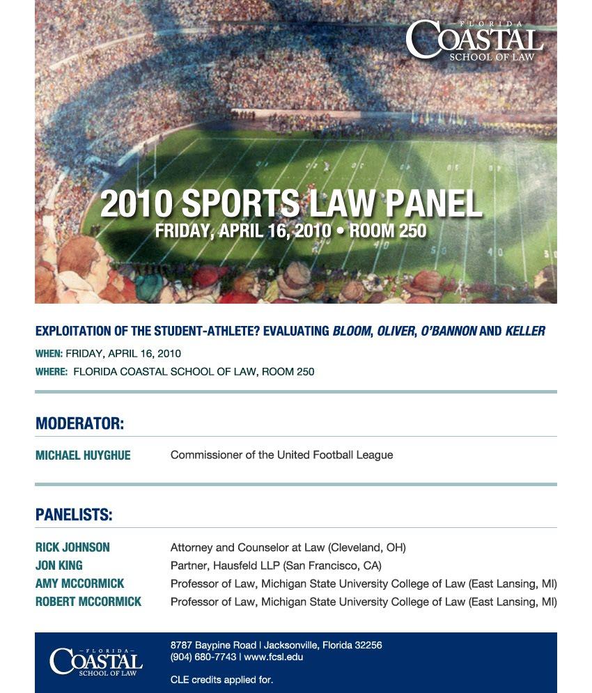 Fcsl amateur sports law outline