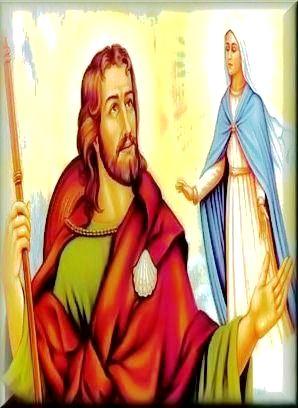 Prvo Marijino ukazanje, Apostolu Jakovu...
