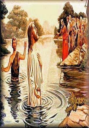 Isusovo Krštenje na Jordanu