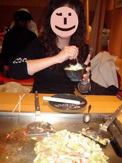 Monjayaki at Ginza