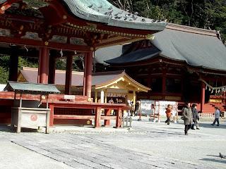 Tsurugaoka Hachiman-gu in Kamakura