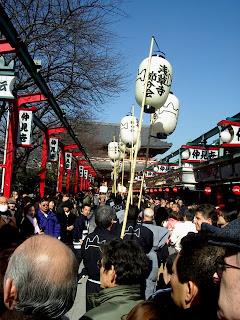 Setsubun Senso-ji in Asakusa
