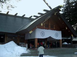 Hokkaido Jingu in Sapporo