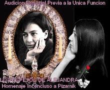 Audicion Especial previa a LOS ESPEJOS DE ALEJANDRA-HOMENAJE INCONCLUSO A PIZARNIK