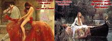Lady Godiva & Lady Shalott, Damas Legendarias
