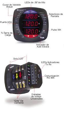 analizador de redes eléctricas shark 100