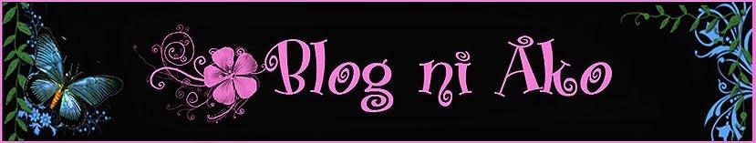 Blog ni ako