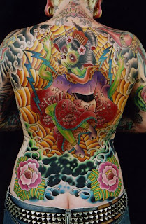 Japanese Modern Tattoo Art