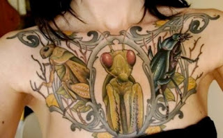 grasshopper tattoo art