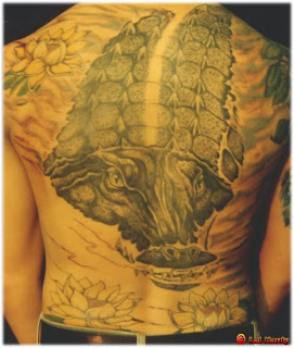 crocodile tattoo for body