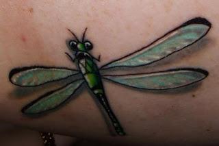 dragonfly tattoo art