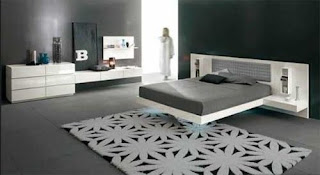 Luxury bed modern design