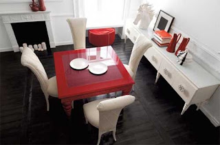 Furniture Chair and Table Dining Room Set